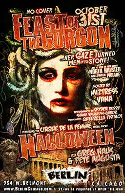 flyer for Feast of the Gorgon